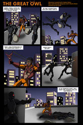 Superhero comic based on 3d printed characters. by hauke3000