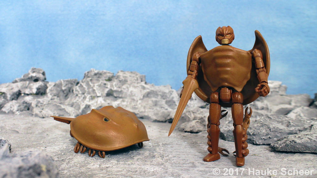 3D printed transforming Horseshoe Crab
