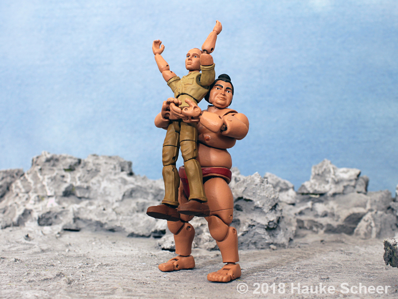 3D printed Sumo Action Figure