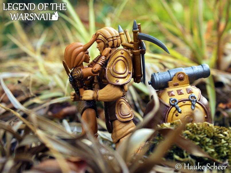 3D Printed Slug Warrior