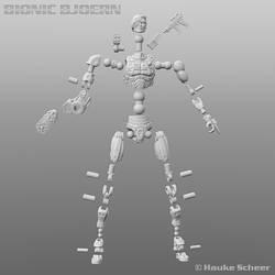 Bionci Bjoern Joint Setup For 3D Printing by hauke3000