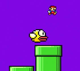 Flappy bird by patrykcyk