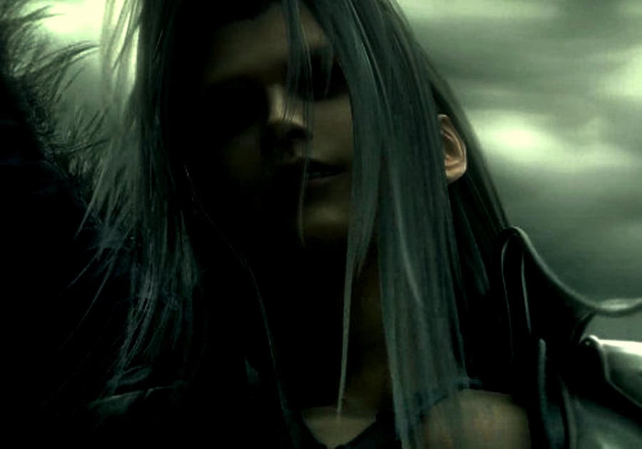 Sephiroth Wing Sephiroth by Cloudochan