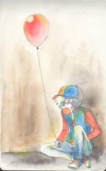 Ballon Rouge by Vitony