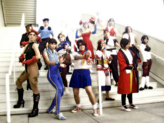 Street Fighter Cosplay by AynElf
