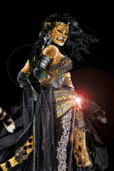 Cheetah Gypsy Woman - Sherah