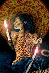 Warrior Woman Ninja Cheetah - Sherah