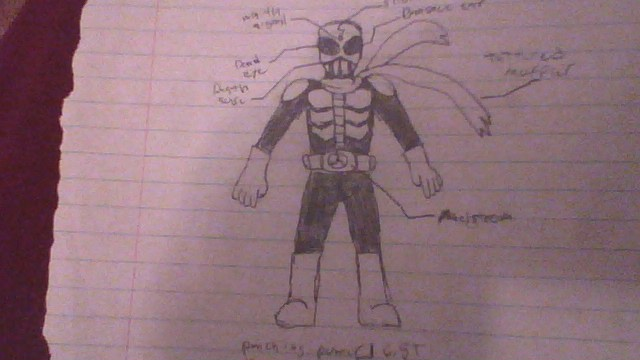My first complete OC Rider! by plasm3000