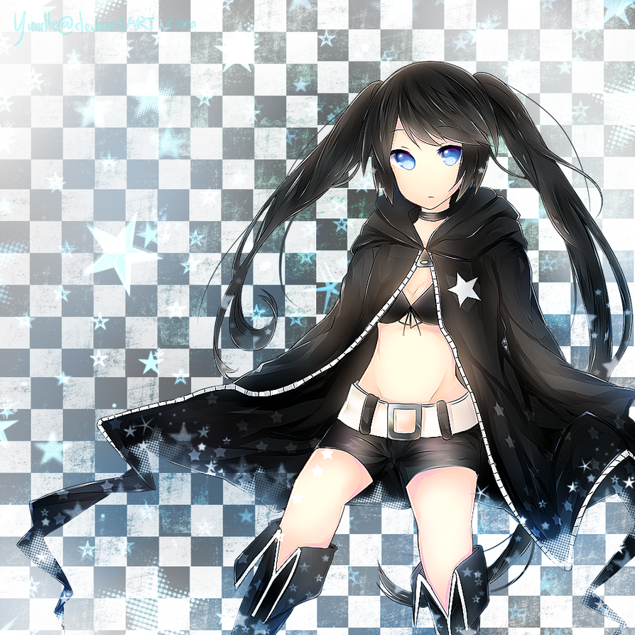 Black Rock Shooter by Yuudle