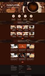 WordPress Theme - Coffee Shop