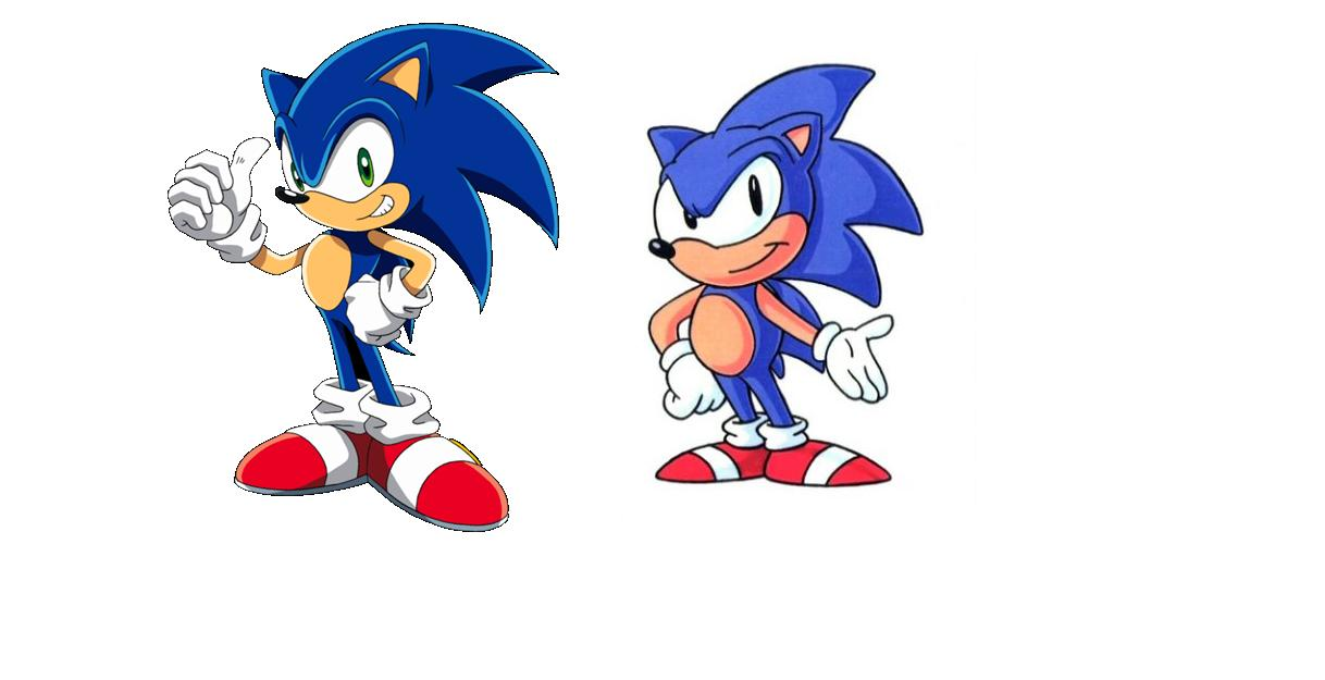 Sonic Generations: Cartoon Style by SpeedTheHedgehog101
