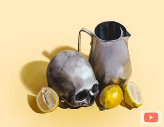 Lemon skull the Blending tutorial by primepalindrome