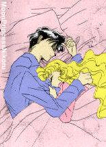 Usagi and Mamoru Sleeping by MoonPrincessNikoru