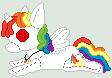Rainbow Rave Doll by PokeFreak33