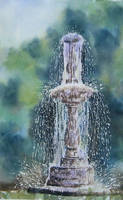 61. Fountain in the Park by Masasasaki