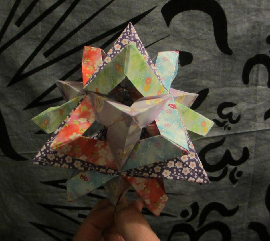 2 Tetrahedra + 3 Squares by galaxy5111