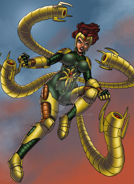 Lady Octopus 8 by Teri-Minx