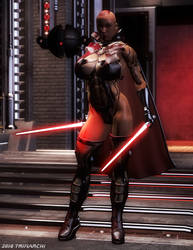 Sith Warrior Maia 02 by Teri-Minx