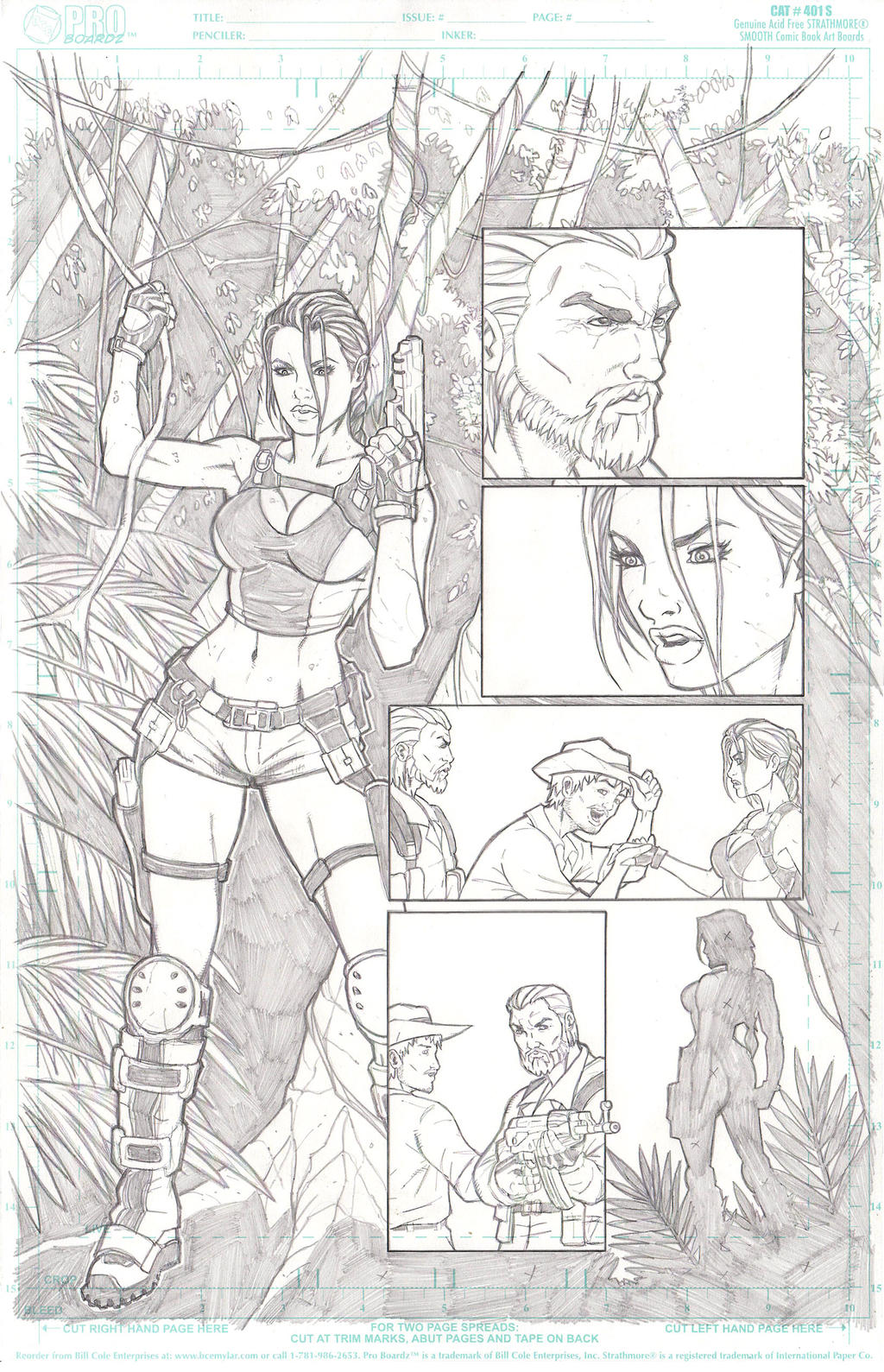 Tomb Raider P.3 by jkrojmalart