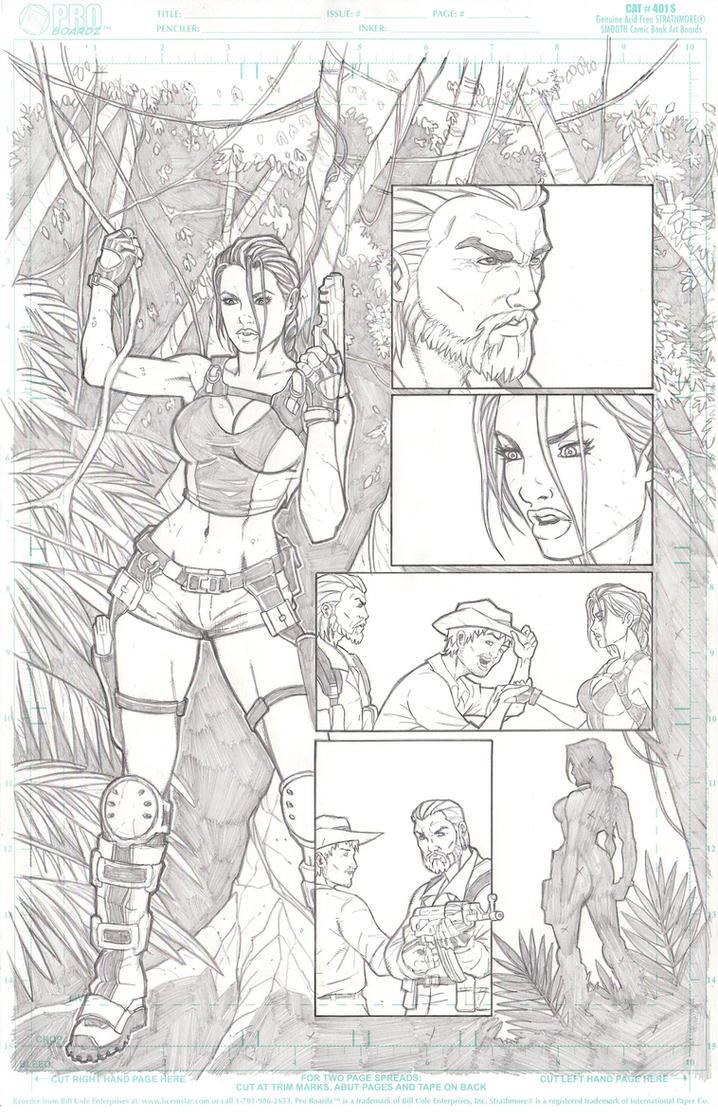 Tomb Raider P.3 by jkrojmalart