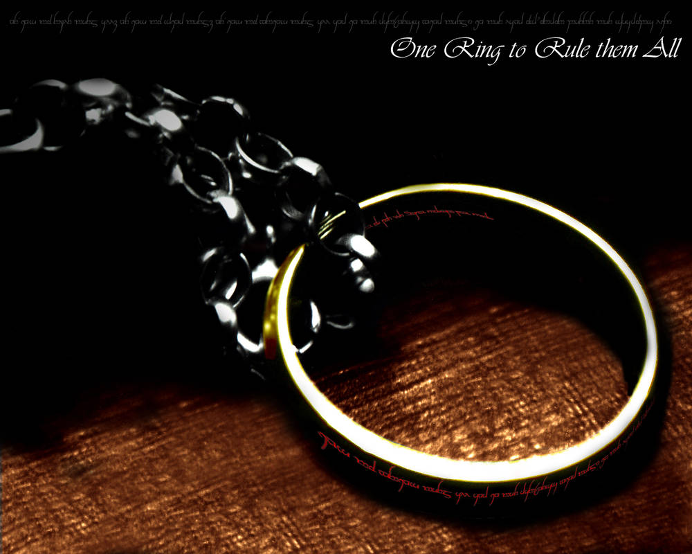 The One Ring Wallpaper 2 By Freedomcall On Deviantart
