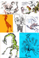 Sketch Dump 2 by sketchinthoughts