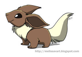 Eevee by sketchinthoughts