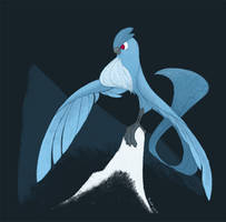 Articuno by sketchinthoughts