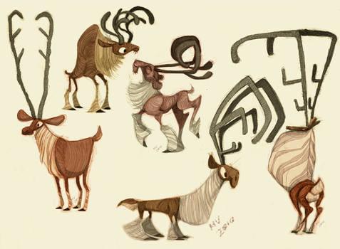 Reindeer Designs