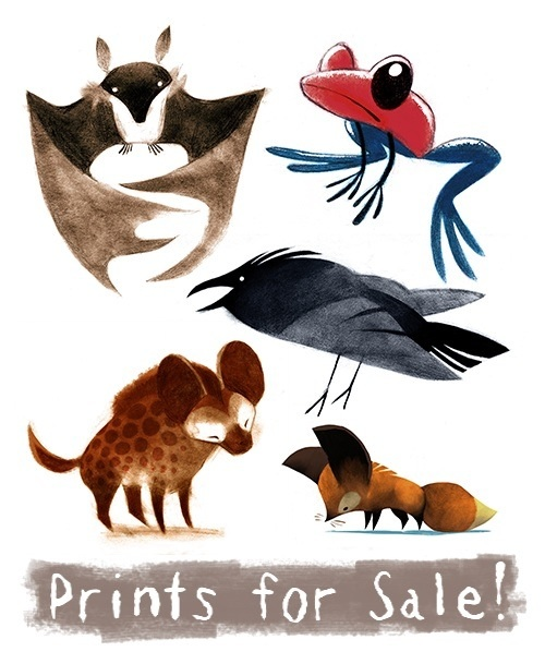 Prints Now Available! by sketchinthoughts