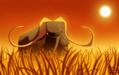 Daily Design: African Buffalo by sketchinthoughts