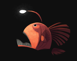 Angler Fish by sketchinthoughts