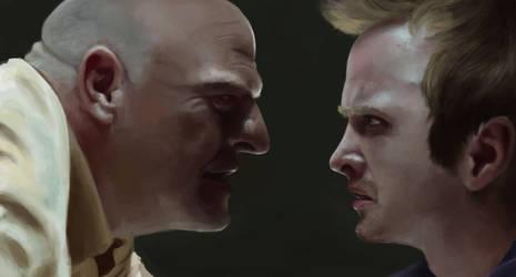Breaking Bad : Enemies by HeroRilex