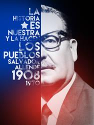 Salvador Allende by 5ontrol
