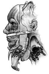 Flesh and fauna mask
