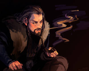 thorin by littleulvar