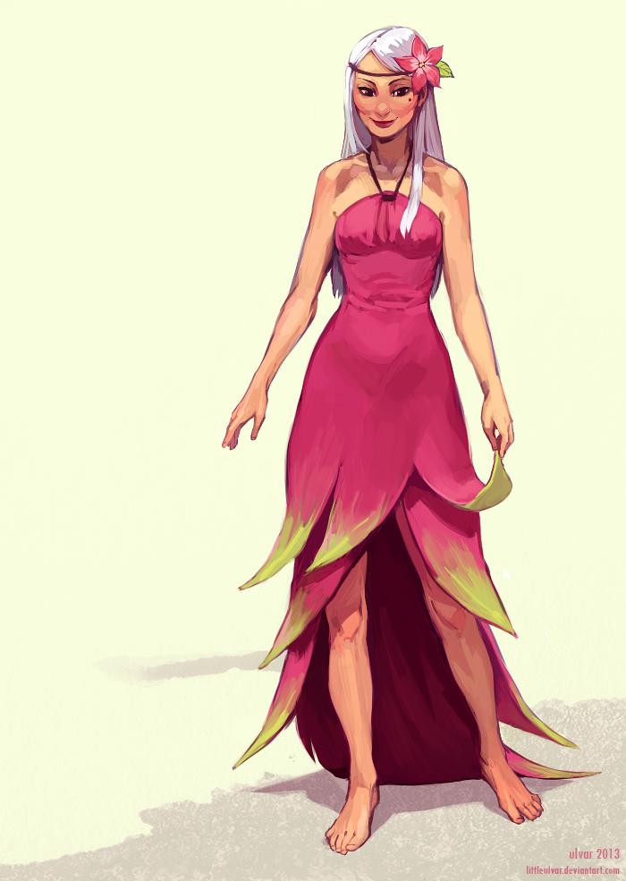 Dress Designs Drawings 2013 dragon fruit by little...