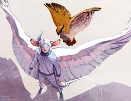 comm: winged by littleulvar