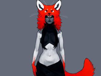 the fox by littleulvar
