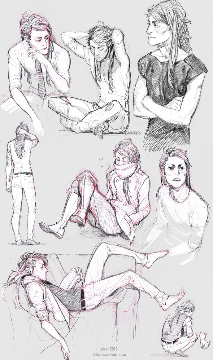 character sketchdump by littleulvar