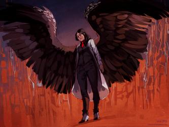 comm: devilbird by littleulvar