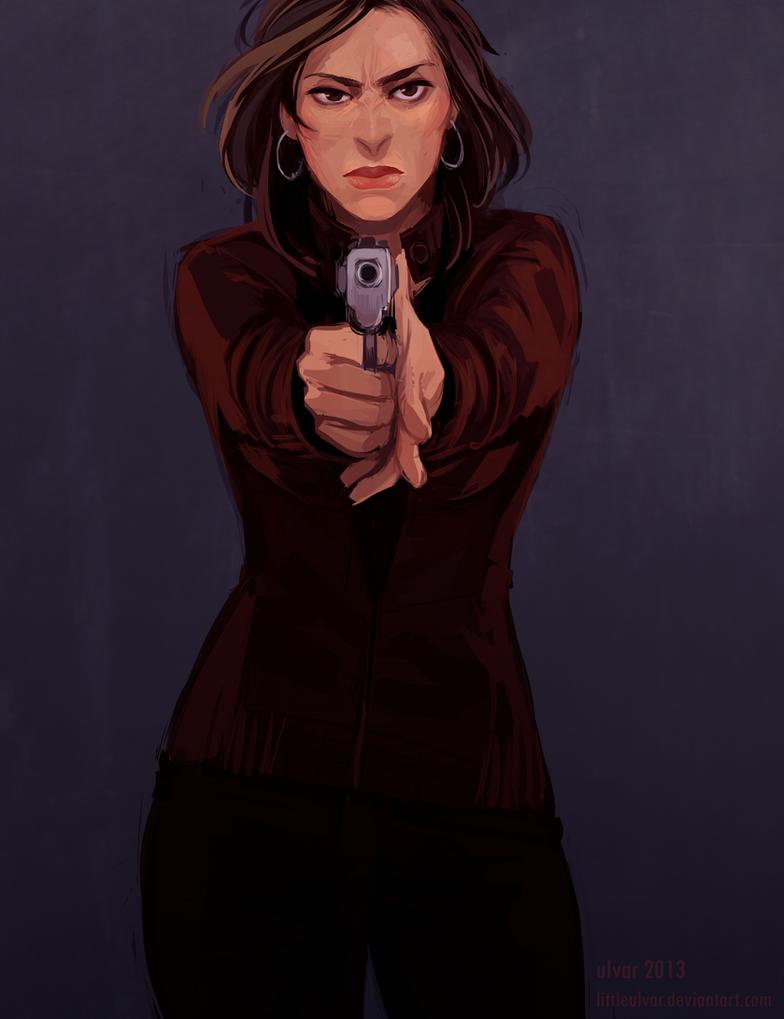 comm: gunshot by littleulvar