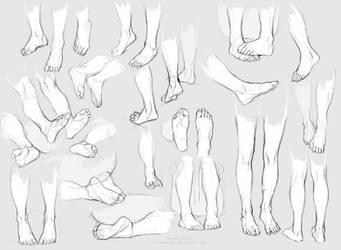 feetdump by littleulvar