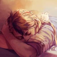 cuddlepile by littleulvar