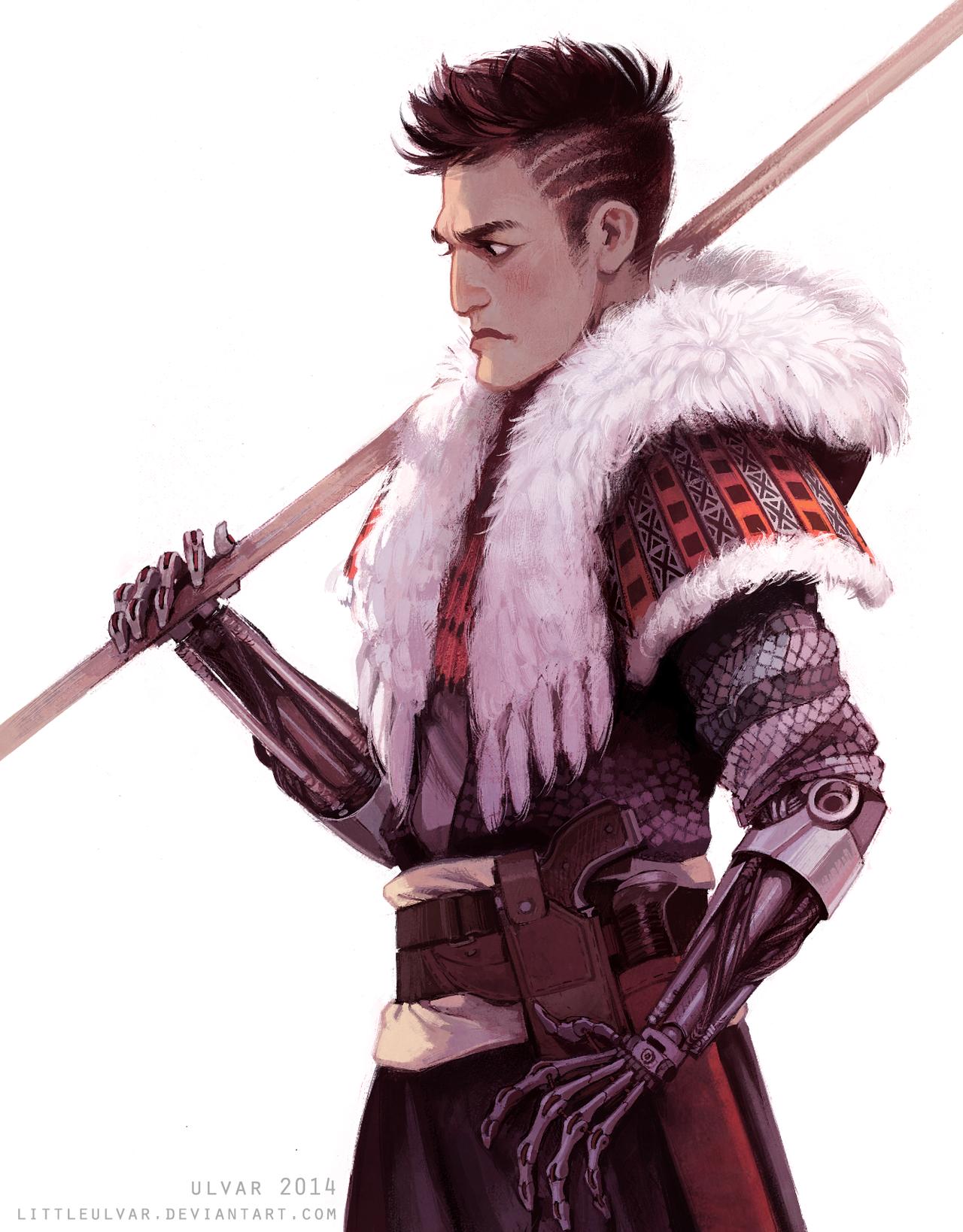 warrior by littleulvar