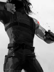 soldier by littleulvar