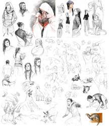 sketchspam II by littleulvar