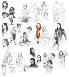 sketchspam III by littleulvar