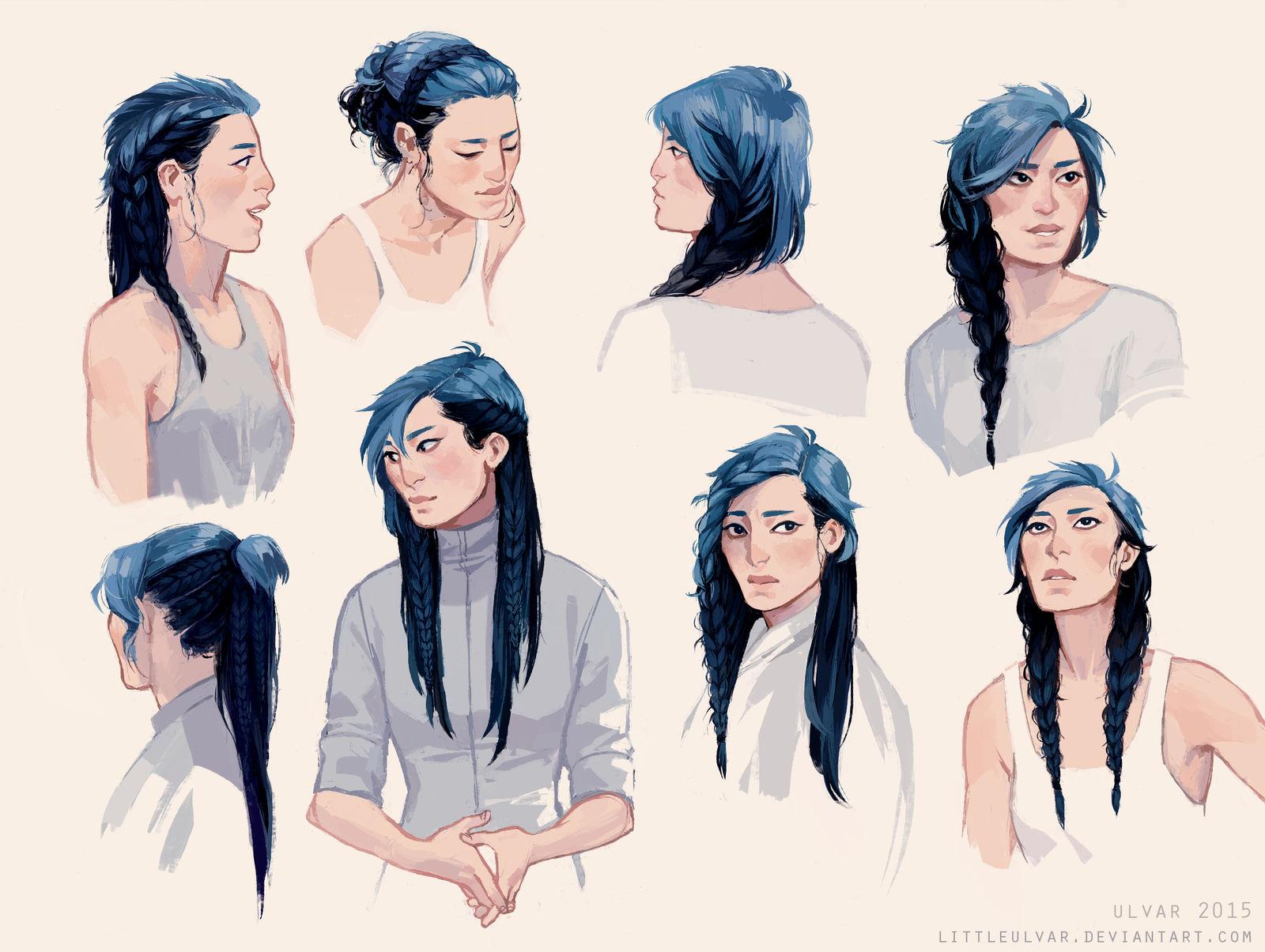rock the braids
