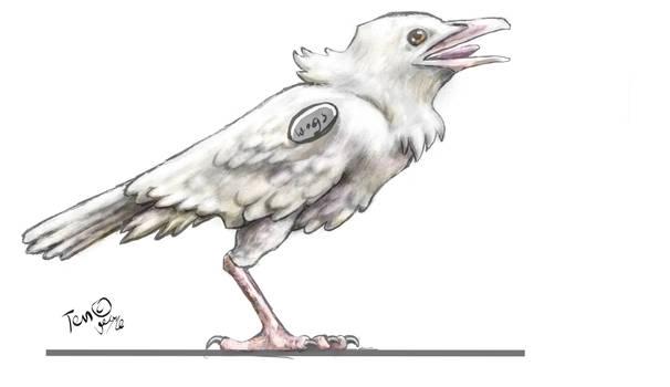 Concept art for 3D model - no wings